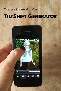 The TiltShift Generator #app allows you to control the perfect lens & blur for your #smartphone pictures