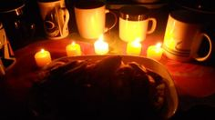 on my mom's bday^ Candles, Food, Essen, Candy, Meals, Candle Sticks, Yemek, Eten, Candle