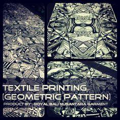 Pattern seamless geometric job