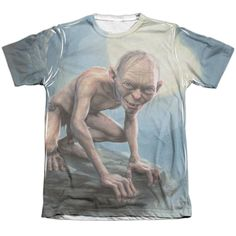 """Checkout our #LicensedGear products FREE SHIPPING + 10% OFF Coupon Code """"Official"""" Lor/gollum Moon-adult Poly/cotton S/s T- Shirt - Lor/gollum Moon-adult Poly/cotton S/s T- Shirt - Price: $24.99. Buy now at https://officiallylicensedgear.com/lor-gollum-moon-adult-poly-cotton-s-s-t-shirt-licensed"""