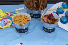Having a fishing themed birthday party for your child. Here are some great ideas from Fish cupcakes to fishing birthday party favors