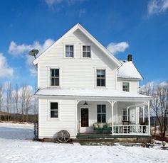 A derelict farmhouse gets a fresh makeover #farmhouse #renovation