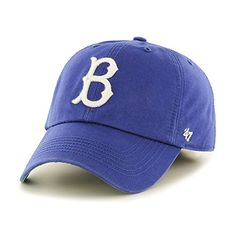 e74d1400baa Brooklyn Dodgers Blue Franchise Fitted Slouch Hat  47 Fitted Caps