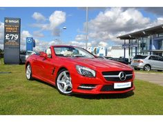 Mercedes-Benz SL Class Convertible Convertible SL 500 2dr Auto (AMG Sport Pack) in Lincoln £84900