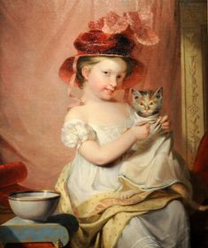 Little Miss Hone  1824 Samuel Finley Breese Morse, 1791–1872