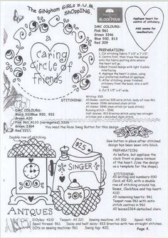 Hand Embroidery Patterns, Applique Patterns, Cross Stitch Embroidery, Quilt Patterns, Quilting Ideas, Red Brolly, Heart Place, Soft Towels, Book Girl