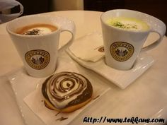 My Dough Vinci & Chocolate Cookie Latte