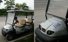 Police 'partol' car