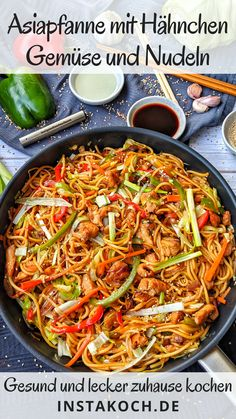 Easy Baking Recipes, Healthy Recipes, Chinese Food Buffet, Food Dog, Asian Kitchen, Asian Recipes, Ethnic Recipes, Chow Mein, Chow Chow