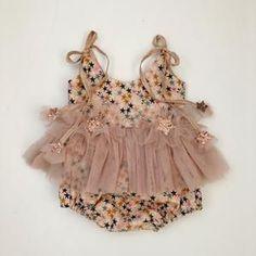 Baby Girl Fashion, Fashion Kids, Cute Baby Clothes, Vintage Baby Clothes, Cute Outfits For Kids, Stylish Kids, Baby Sewing, My Baby Girl, Baby Dress