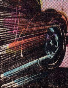 #Car #wheel 4CP   Four Color Process - adventures deep inside the comic book