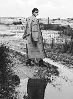 Publication: Vogue Australia June 2017 Model: Julia van Os Photographer: Max Papendieck Fashion Editor: Kate Darvill Hair: Koh Make Up: Linda Jefferyes PART II