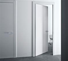 Lualdi: classic modern door