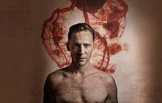Review: Tom Hiddleston takes a shower in Coriolanus at the Donmar Warehouse.