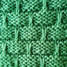 Slip Stitch Basketweave Stitch - Purl Avenue