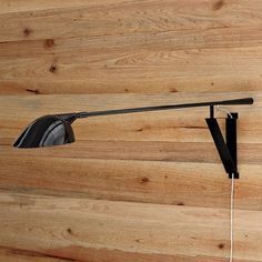 Long-Arm Wall Sconce from West Elm: $150