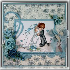 Lili of the Valley Challenge – New Beginnings Wedding Day Cards, Wedding Anniversary Cards, Love Cards, Thank You Cards, Digi Stamps, Lily Of The Valley, Love Valentines, Scrapbooking, Cardmaking