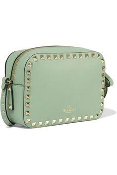 Valentino | The Rockstud small leather shoulder bag | NET-A-PORTER.COM