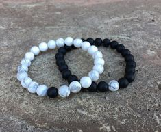 Distance Bracelets – Black And White Matching Pair – Long Distance – For Friendships/relationships/couples – His/Hers FREE U.S SHIPPING Distance Bracelets Black And White Matching Pair Long Diy Gifts For Boyfriend, Gifts For Him, Boyfriend Birthday Gifts To Buy, Boyfriend Sayings, Long Distance Gifts, Long Distance Bracelets, Long Distance Relationship Bracelets, Long Distance Friendship, Matching Couple Bracelets