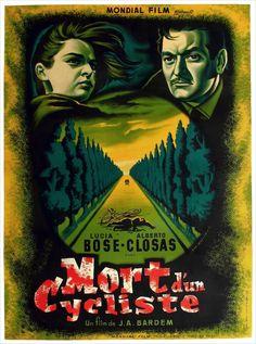 jean mascii | Death of a Cyclist (1955) - French Two Panel (Jean Mascii)