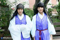 bts chuseok 2014 #jimin #jungkook