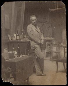 Thomas Eakins (American, 1844–1916). Self-Portrait, 1889–94.The Metropolitan Museum of Art, New York. Gift of Mimi and Ariel Halpern, 1985 (1985.1027.20)
