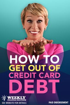 """Financial Expert and """"Shark Tank's"""" Barbara Corcoran has teamed up with Freedom Debt Relief to show you how you can resolve your credit card debt without resorting to loans. Created to help people struggling with heavy debt, Freedom Debt Relief offers a way out - - no loan required."""
