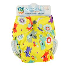 Oh Deer! - Nuggles Design Canada - Newborn AIO Cloth Diaper - Fits 5-15 lbs+ No cover needed Umbilical Cord Care Butter-soft Stay Dry Lining Dual Leg Gusseting prevent blowouts Improved tunnel design for quick dry time! Care Instructions: Cold pre-rinse. Warm wash, cold rinse. Tumble dry on low only or hang to dry. Use cloth diaper safe detergent, avoid additives and fabric softe