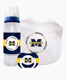 Take a look at this University of Michigan Gift Set by Baby Fanatic on #zulily today!