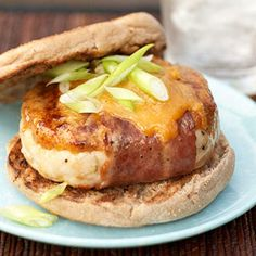 Three-Meat Burgers    Watch their mouths water when you grill up these chicken-turkey-bacon burgers topped with melted cheese. For free-food toppings, which have less than 20 calories and 5 grams of carb, try salsa, Worcestershire sauce, mustard, cucumber slices, tomatoes, onions, or sweet peppers.