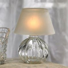 Glass Frost Votive Lamp Candle Holders, Set of 4 Votive Candle Holders, Frost, Living Spaces, Sweet Home, Table Lamp, Candles, Lighting, Glass, Home Decor