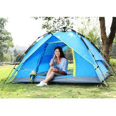 #Tiendadecampaña #Camping #Airelibre ¿Quieres salir de la ciudad los fines de semana? Ir de excursión y pasar la noche fuera será buen opción. Pues una tienda de campaña es imprescindible.