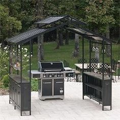 Available At SamsClub And Thinking About Putting It By The Built In Barbecue Grill GazeboPatio GrillDeck PatioOutdoor