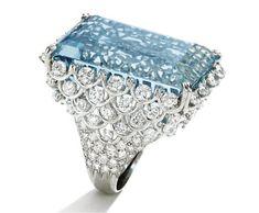 I Love Jewelry, High Jewelry, Jewelry Rings, Jewelry Design, Geek Jewelry, Aquamarine Jewelry, Gemstone Jewelry, Antique Jewelry, Vintage Jewelry