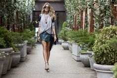STREET STYLE: Martha Graeff  Martha, from the blog 'Around In Style' is rocking our ASTARS Sweetest Thing Cardigan! She looks GREAT!!  Check out some more photos of her on the streets of NY: http://www.aroundinstyle.com/aroundinstyle/2014/7/18/summer-leather  http://shop.astarswomens.com/new-arrivals