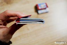 Schauen Sie mal, wie einfach und schnell kann man eine tolle Geldtasche aus Milchverpackung selber basteln. Es geht ganz einfach und schnell. Money, Creative, Bags, Amazing, Kids
