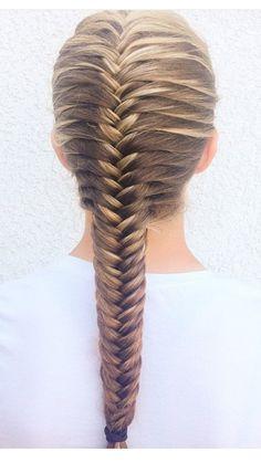 358 Best Fishtail Braids Images On Pinterest Hair Makeup Bob