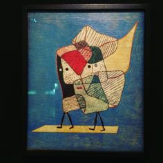 Paul Klee, Zwillinge (Jumeaux), 1930 - huile sur toile sur châssis à clés ; témoignage de l'intérêt que porte Klee à la figure double au début des années 1930. @delphinebd on instagram
