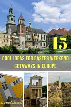 Easter weekend getaways ideas, featuring city breaks to less touristy places: Cork and Limerick (Ireland), Sofia and Plovdiv (Bulgaria), Padua (Italy), Eindhoven and Rotterdam (the Netherlands), Krakow (Poland) and 4-day off-the-beaten track itineraries to Wallonia (Belgium), Brittany and Normandy (France), Luxemburg, Bulgaria, North Brabant (the Netherlands), Bretten and Blankenheim (Germany). #Easter #getaways #travel #traveleurope via @ipanemat