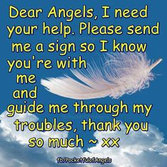 "Would you like to know about the signs your Angels and passed loved ones may send you? CLICK HERE  ➡   http://www.myangelcardreadings.com/angelsigns    ⭐  AND we have a gallery full of ""Angel Signs"" image quotes, too. Beautiful, inspiring and informative, they start here:  ⭐  http://www.myangelcardreadings.com/angelsigns2  ⭐                  #angels #angelsigns"