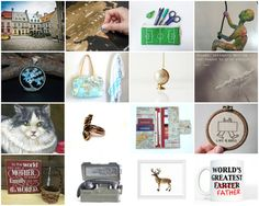beautiful Etsy treasury by TheVintageCinderella ~ To the world you are