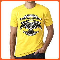 Speed Junkies Since 2000 Men/'s T-shirt Black Birthday Gift