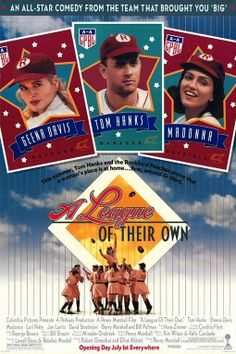 """A League of Their Own"" is a 1992 American comedy-drama film that tells a fictionalized account of the real-life All-American Girls Professional Baseball League (AAGPBL). Directed by Penny Marshall, the film stars Geena Davis, Lori Petty, Tom Hanks, Madonna, and Rosie O'Donnell."