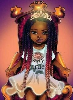Baby Cartoon Black Ideas Baby Cartoon Black IdeasYou can find Black art and more on our website. Black Love Art, Black Girl Art, My Black Is Beautiful, Black Girls Rock, Art Girl, Black Girl Magic, Black Girls Drawing, Beautiful Soul, Black Girl Cartoon