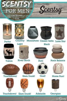 SCENTSY - HOME - WARMERS FOR MEN - MASCULINE WARMERS  Gift Ideas For Guys FALL/WINTER 2016 Flyer Created By: Brittany Gerrity Admin Of: No-Nonsense Canadian Flyers Sharing Group on Facebook www.brittanygerrity.scentsy.ca