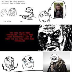 Parent Game of Thrones logic.