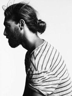 Man Bun Hairstyle 19