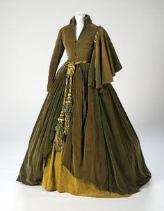 "Green curtain dress worn by Vivien Leigh in ""Gone with the Wind"""