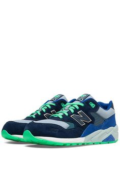 The Urban Exploration 580 Sneaker in Blue