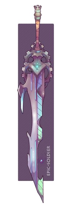 Weapon commission 36 by Epic-Soldier.deviantart.com on @DeviantArt